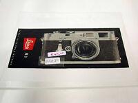 Leica Leitz leaflet Prospekt vintage original Leica M3 / 1954 /17