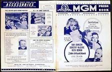INVITATION 1952 Van Johnson, Dorothy McGuire, Ruth Roman UK PRESSBOOK