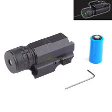 Compact GREEN Laser Sight w/Quick Release Weaver Picatinny for Full Size Pistols