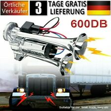 DE 600DB Fanfare Hupe Drucklufthorn Nebelhorn Lufthorn 12V Auto LKW,Zug Boot RV