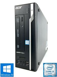 Acer Veriton X2640G - 500GB HDD, Intel Core i3-6100, 8GB RAM - Win 10 Pro