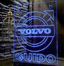 Trucker LKW Namensschild LED Volvo  Emblem von Deutschland 12 oder 24v VIDEO !