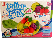 Play Doh Style DIY Super Soft Clay Mini Fruit Shop Play Dough
