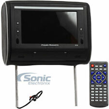 "Power Acoustik H-94 Single 9"" LED Headrest Monitor w/Headphone Input/IR Wireless"