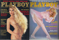 PLAYBOY 1984 March/April Lot of 2-Moses Malone,Roy Scheider, Big Beautiful Women