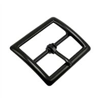 "Perfect Fit Black Garrison Belt Buckle Replacement 1.75"" Duty Work Uniform"