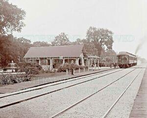 Kenilworth IL C&NW Railway railroad station depot photo CHOICE 5x7 or request CD