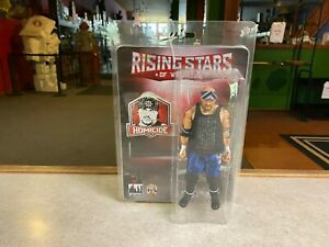 "FTC Figure Toy Company 8"" Retro NIP WWE Rising Stars of Wrestling HOMICIDE"