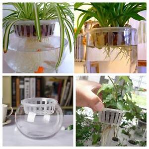 Plastic Insert Plants Growth Mesh Pot Hydroponic Net Cloning Basket Aquarium