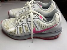 Womens Nike Air Max Shoes Sz 8 Sneakers Trainers White & Pink