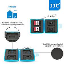 JJC Storage Hard Memory Card Case for Nintendo Switch Game Card*4+MicroSD Card*4
