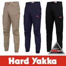 Hard Yakka Cargo Cuff Work Pants Workwear Elastic Cuffed 3056 Y02340 Stretch