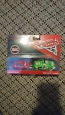 2018 Disney CARS 3  Natalie & Chick Hicks with headset 2 pack