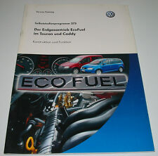SSP 373 Erdgasantrieb VW Touran I + VW Caddy Typ 2K Erdgas Antrieb Mai 2006!