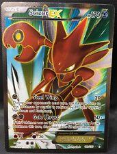 SCIZOR EX 119/122 FULL ART Pokemon TCG : XY BREAKpoint Ultra Rare - NEW