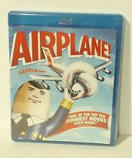 Airplane (Blu-ray Disc, 2013, 2-Disc Set, Canadian) NEW AUTHENTIC REGION A