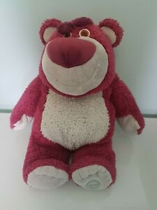 """Lotso Bear Toy Story 3 official Disney Store plush toy 16"""""""