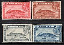 Gibraltar KGV 1931-33 Rock of Gibraltar (p14) Set SG110-13 M/Mint