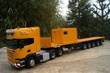 WSI scania R Steamline TL con 5 alineación ballasttrailer + 10ft amarillo contenedor