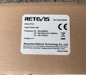 Retevis RT22 Walkie Talkies Rechargeable Hands Free 2 Way Radios Two-Way Radio6