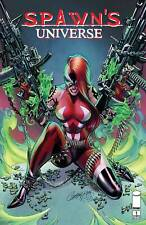SPAWN UNIVERSE #1 Cover A J. Scott Campbell Pre-Order Image Ships June 23 2021