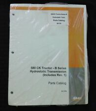CASE 580 CONSTRUCTION KING SERIES B TRACTOR LOADER BACKHOE PARTS CATALOG MANUAL