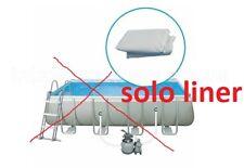 Intex 10939 Liner x Ultra Frame Rettangolare 549x274x132 Cm -06776-