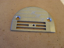 NEW THROAT PLATE FOR DOING MEDIUM TO HEAVY WORK FOR INDUSTRIAL STRAIGHT SEWERS
