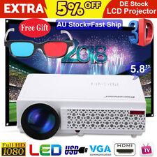 Excelvan 96 FHD 1080p 5000lumen LED 3d/beamer Heimkino Projektor HDMI USB VGA