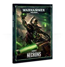 Warhammer - CODEX Necrons - New / Hardcover / Sealed / FREE SHIPPING