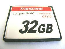 4GB / 32GB Compact Flash Industrial ( 4 GB / 32 GB CF170 ) TRANSCEND gebraucht