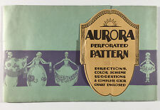 Unopened Aurora Perforated Pattern Cone Decoration Raised Painting A Sartorius