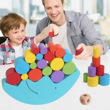1 Satz Baby Kinder Spielzeug Moon Balance Spiel und Spiele fuer 2-4 jahre alt C9
