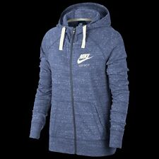 Nike  WOMEN'S Gym Vintage Full-Zip Hoodie-PURPLE-SIZE (S)- BRAND NEW