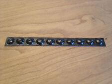 10x Gummifüße Noppen Puffer Ø 8mm Dicke 2,5mm selbstklebend schwarz von 3M