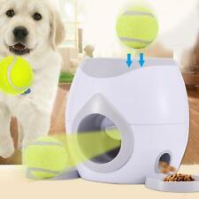 Lanzador De Bolas De Entrenamiento De Mascotas Perro de Juguete lanzador máquina Fetch automático recompensa de alimentos