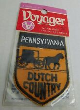 Vintage NIP Voyager Pennsylvania Dutch Country Sew On Embroidered Patch