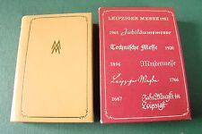 DDR Minibuch - MMM - Leipziger Messe - 1982