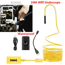 10M 8LED HD 1200P Endoscope WiFi Borescope Inspection Camera For iPhone/Android