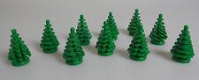 LEGO® Town Classic Stadt 10x Kleine Tanne grün Grünzeug Baum Bäume Tree fir