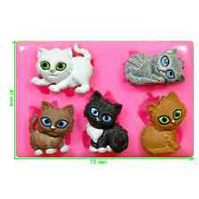 Cuddly Kittens Mould by Fairie Blessings