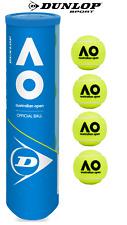 Original Tennis Balls Dunlop Official Ball Australian Open 4 Pcs. Balls Hd Core