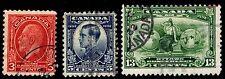 1932 Canada #192-94 Imperial Economic Conf. - Used - Fine+ - $10.25 (Esp#2300)