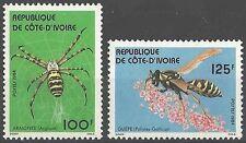 Timbres Insectes Arachnides Cote d'Ivoire 681/2 ** lot 16004