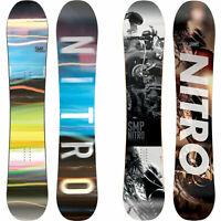 Nitro SMP da Uomo Snowboard All Mountain Freeride Freestyle 2019-2020 Nuovo