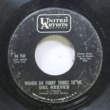 Country 45 Del Reeves - Women Do Funny Things  To Me / My Half Of Our Past On Un