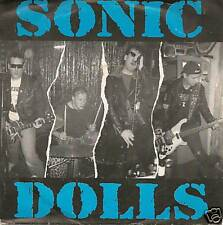 SONIC DOLLS - I'M ALRIGHT - 7inch-Single BLUE VINYL (4)
