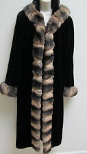 $20,495 Sheared Mink & Chinchilla Fur Coat.   New with Tag.