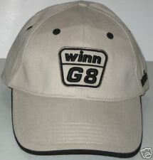 Winn  G8 Golf Cap 100% Cotton  New Light Tan Hat 100% Cotton