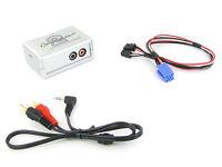 Renault AUX input adapter 3.5mm jack lead Tuner Update List radio VDO CTVRNX001